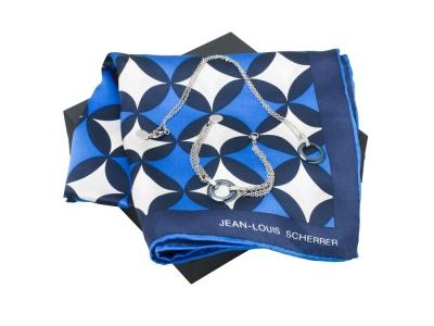 OA200302715 Jean Louis Scherrer. Набор: шелковый платок, браслет, колье