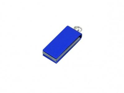 OA2003025409 Флешка с мини чипом, минимальный размер, цветной  корпус, 64 Гб, синий