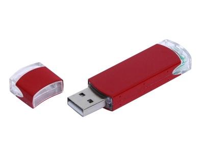 OA2003025160 Флешка промо прямоугольной классической формы, 64 Гб, красный