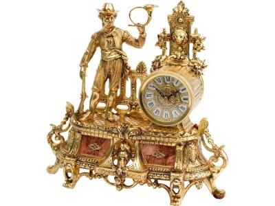 OA37W-BRN7 Часы Охотник, золотистый