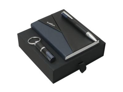 OA200302757 Ungaro. Подарочный набор Lapo: блокнот А6, ручка шариковая, брелок. Ungaro