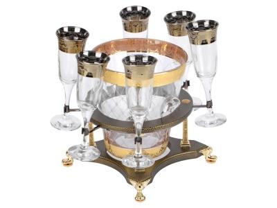 OA1701401229 Credan. Набор для шампанского Credan