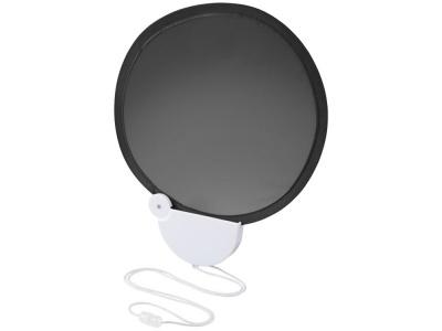 OA1830321410 Складной вентилятор (веер) Breeze со шнурком, черный/белый