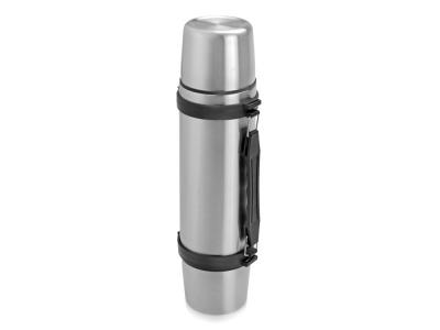 OA29T-SLR29 Термос на 750 мл с ручкой и двумя крышками Чай вдвоем, серебристый