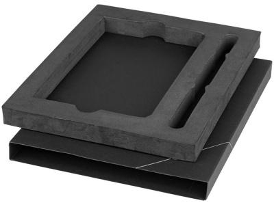 OA1701222393 Marksman. Подарочная коробка для блокнота А6 и ручки, черный