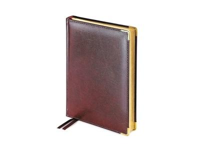 OA2003022548 Bruno Visconti. Ежедневник А5 полудатированный Imperium, коричневый