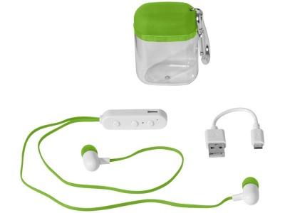 OA1701223421 Наушники с функцией Bluetooth® с чехлом с карабином, лайм