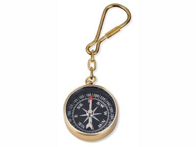 OA1701401335 Брелок-компас, золотистый