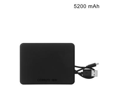 OA2003028644 Cerruti 1881. Портативное зарядное устройство Wooster, 5200 mAh