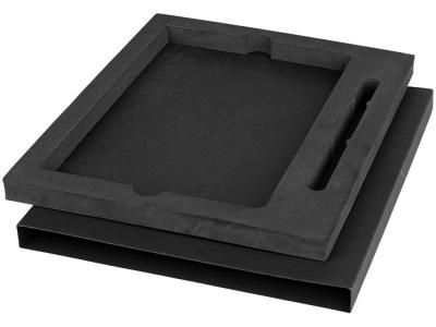 OA1701222392 Marksman. Подарочная коробка для блокнота А5 и ручки, черный