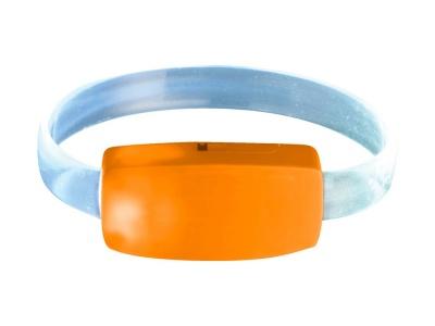 OA170140657 Браслет Raver, оранжевый/белый