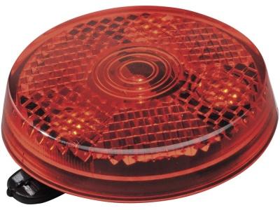 OA85POS-RED12 Светоотражатель Shini с зажимом