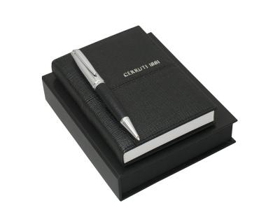 OA200302670 Cerruti 1881. Подарочный набор: блокнот A6, ручка шариковая. Cerruti 1881