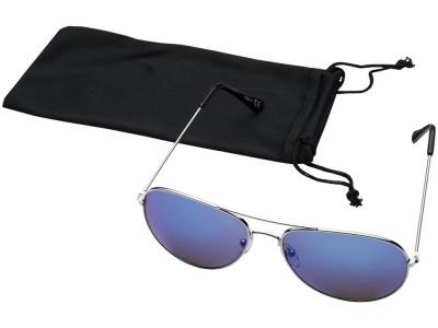 OA2003027626 Солнечные очки Aviator с цветными зеркальными линзами, cиний