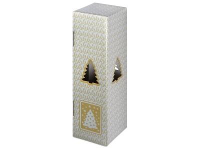 OA2003028343 Новогодняя коробка для шампанского, серебро