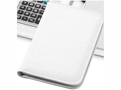 OA15094250 Блокнот А6 Smarti с калькулятором, белый