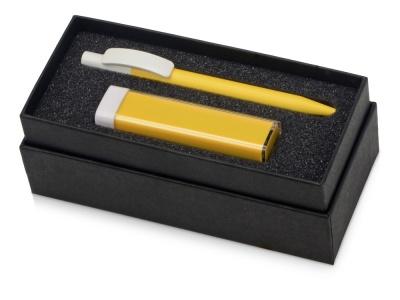 OA2003023756 Подарочный набор White top с ручкой и зарядным устройством, желтый