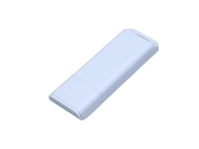 OA2003025053 Флешка прямоугольной формы, оригинальный дизайн, двухцветный корпус, 64 Гб, белый