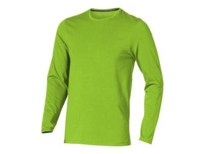 OA1701403140 Elevate. Футболка Ponoka  мужская с длинным  рукавом, зеленое яблоко