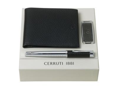 OA2003028652 Cerruti 1881. Подарочный набор: портмоне, USB-флешка на 16 Гб, ручка-роллер. Cerruti 1881