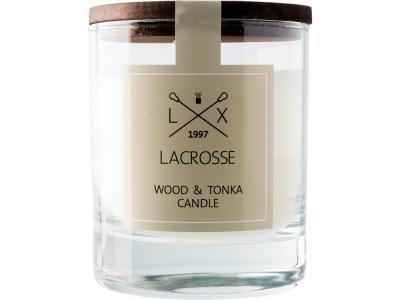 OA2003025498 Ambientair. Свеча ароматическая в стекле Дерево & Тонка, бежевый