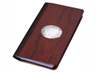OA1701401109 Визитница Престижный клиент, бургунди/серебристый
