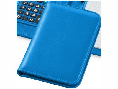 OA15094253 Блокнот А6 Smarti с калькулятором, светло-синий
