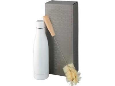 OA2003028974 Avenue. Набор из медной бутылки с вакуумной изоляцией Vasa и щетки, белый