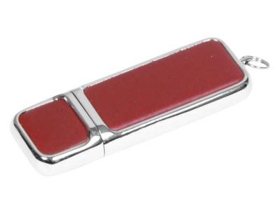 OA2003025215 Флешка компактной формы, 16 Гб, коричневый/серебристый