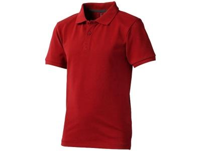 OA79TX-RED6K4 Elevate. Рубашка поло Calgary детская, красный