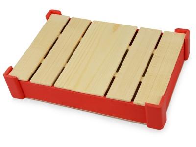 OA1701222708 Подарочная деревянная коробка, красный