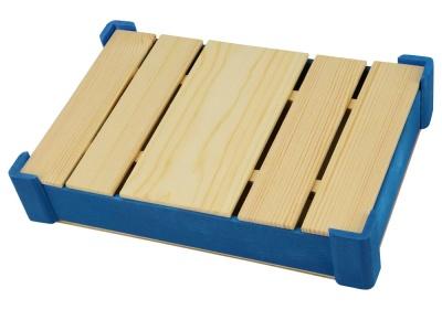 OA1701222707 Подарочная деревянная коробка, синий