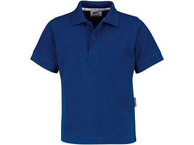 OA79TX-BLU7K4 Slazenger. Рубашка поло Forehand детская, классический синий