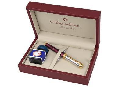 OA75F-RED1G Cesare Emiliano. Набор Cesare Emiliano: ручка перьевая, чернила