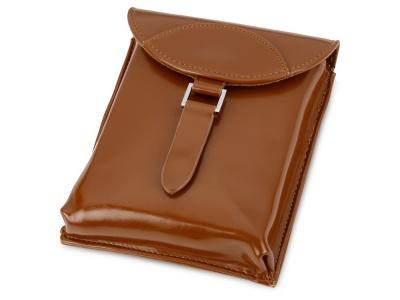 OA15092937 Набор аксессуаров для чистки обуви Кэрролтон, коричневый/натуральный