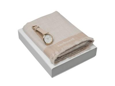 OA200302638 Cacharel. Подарочный набор Bird: шарф, часы наручные. Cacharel