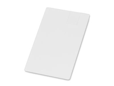 OA2003024322 Флеш-карта USB 2.0 16 Gb в виде пластиковой карты Card, белый