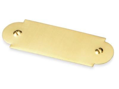 OA38AW-GLD9 Шильд золотистый