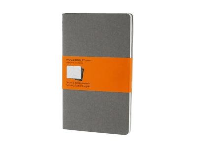50712110 Записная книжка Moleskine Cahier (в линейку, 3 шт.), Large (13х21см), серый
