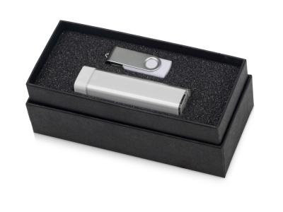 OA2003023768 Подарочный набор Flashbank с флешкой и зарядным устройством, белый