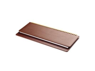 OA2003023444 Альт. Планинг датированный Velvet 2020, коричневый