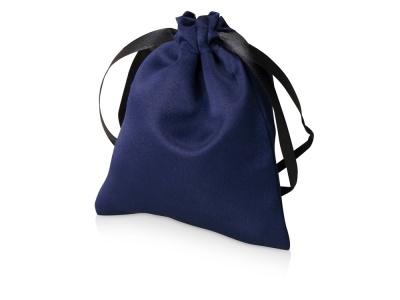 OA2003022402 Мешочек подарочный сатиновый S, темно-синий