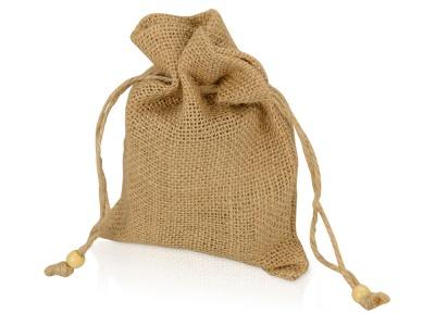 OA1701222989 Мешочек подарочный, джут, средний, натуральный