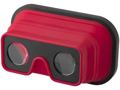 OA1701222242 Складные силиконовые очки виртуальной реальности, красный/черный