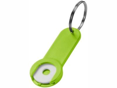 OA15094590 Брелок-держатель для монет Shoppy, лайм