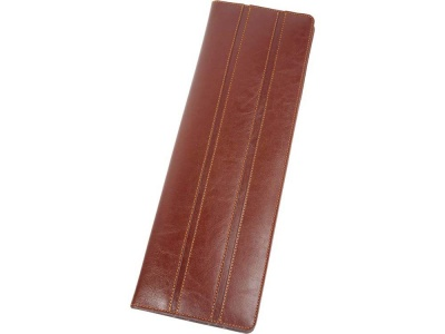 OA170140993 Alessandro Venanzi. Чехол для галстуков Alessandro Venanzi, коричневый