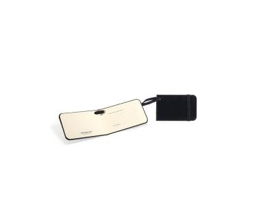 MS14A-BLK1 Moleskine Travelling Collection. Ярлык для багажа Moleskine Luggage Tag, черный