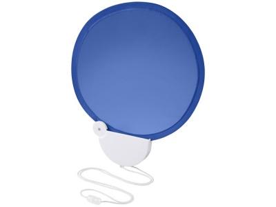 OA1830321411 Складной вентилятор (веер) Breeze со шнурком, ярко-синий/белый