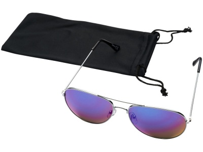 OA2003027627 Солнечные очки Aviator с цветными зеркальными линзами, фуксия
