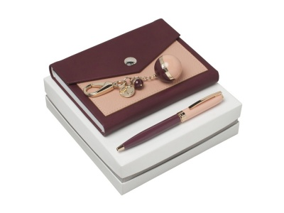 OA200302643 Cacharel. Подарочный набор Bird: брелок, блокнот A6, ручка шариковая. Cacharel